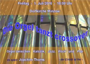Die Orgel tanzt crossover