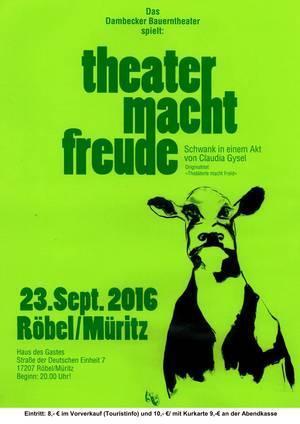 Das Bauerntheater Dambeck spielt: