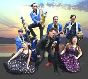 """Rock'n'Roll am See - Konzert der """"Blue Haley Band"""""""