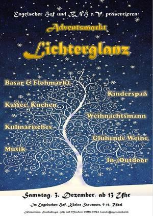 """Adventsmarkt """"Lichterglanz"""""""