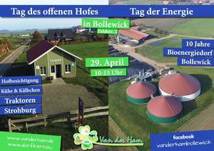 Tag des offenen Hofes - Tag der Energie