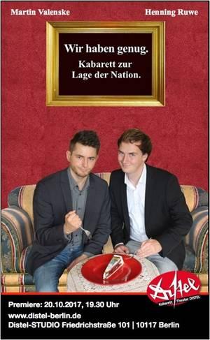Junges Kabarett Valenske & Ruwe
