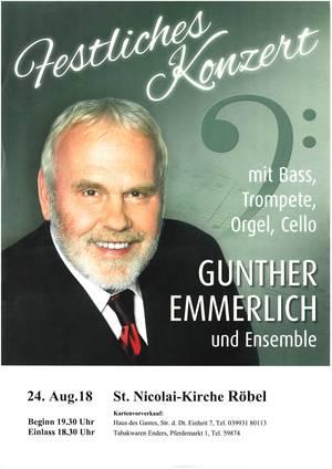 Konzertsommer Röbel/Müritz