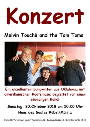 Melvin Touche & The Tom Toms
