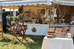 Mittelaltermarkt zum Pfingstwochenende